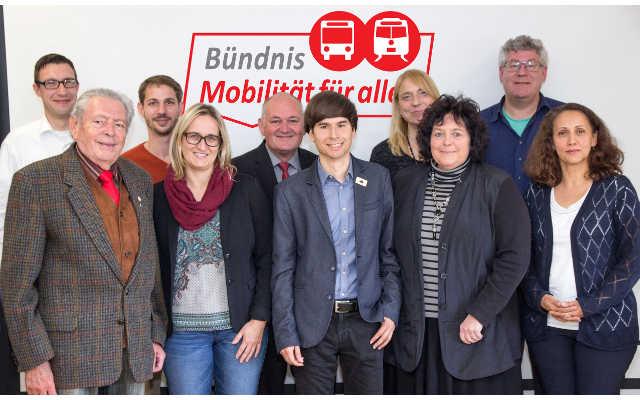 Pressefoto Bündnis Mobilität für alle